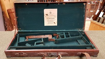 Westley Richards Leather Double Case