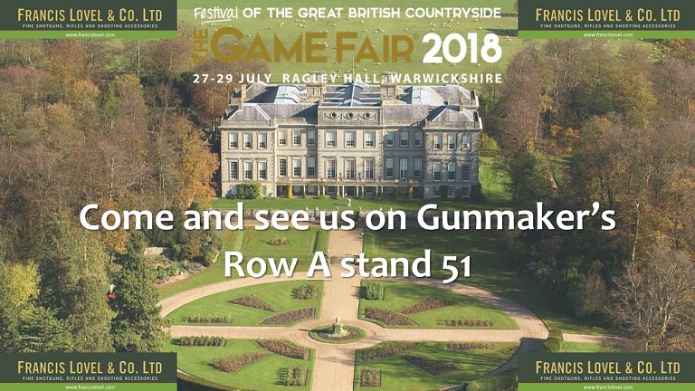 The Game Fair 2018 - Ragley Hall 27th-29th July